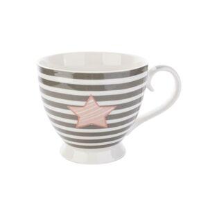 Porcelánový hrnek Striped Star , 460 ml