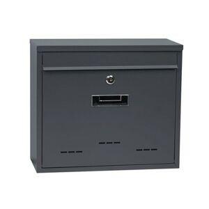 Poštovní ocelová schránka BK.31.D.AM, šedá