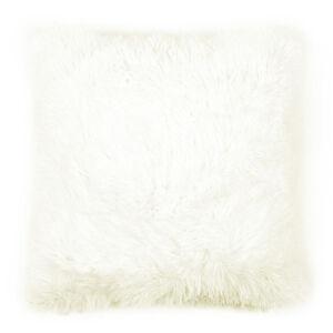 JAHU Povlak na polštářek Chlupáč Peluto Uni bílá, 40 x 40 cm