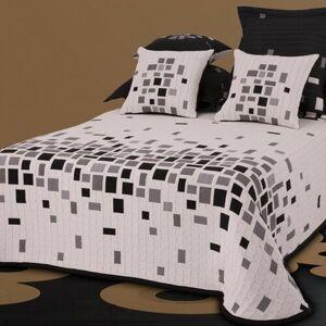 Forbyt Přehoz na postel Derby černobílá