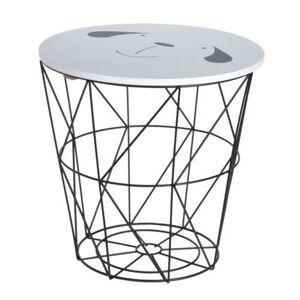 Příruční stolek Hatu, pes, 30 x 30 cm