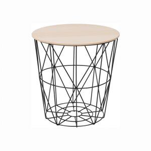 Tempo Kondela Příruční stolek Nancer 1, přírodní