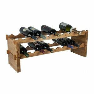 RTA Stojan na 18 láhví vín, bambusové dřevo