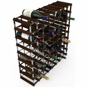 RTA Stojan na 72 láhví vín, tmavá borovice