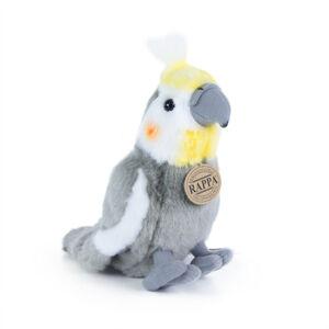 Rappa Plyšový papoušek korela, 20 cm
