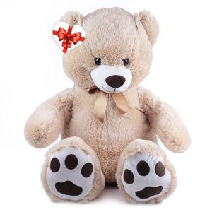 Rappa Velký plyšový medvěd Fido s visačkou, 100 cm