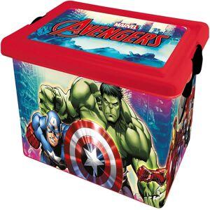STOR Dekorační úložný box Avengers, 13 l