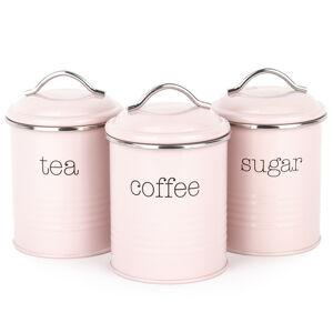 ada dóz na kávu, čaj a cukr, růžová