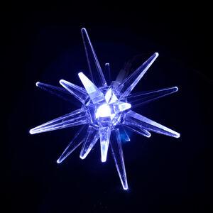 Sharks SA148 Solární osvětlení Závěsná hvězda, 6,5 x 7 cm, IP44, studená bílá