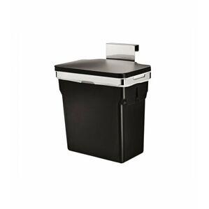 Vestavný odpadkový koš Simplehuman – 10 l, chromovaná ocel, plastový kbelík
