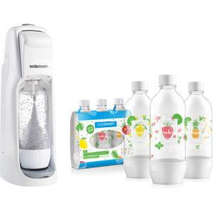 SodaStream Výrobník perlivé vody + 3 láhve Ovoce, 1 l