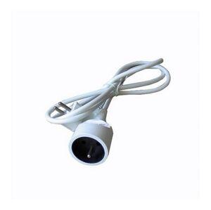 Solight prodlužovací kabel - spojka, 1 zásuvka, bílá, 10m PS16