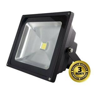 LED venkovní reflektor 30W 2100lm AC 230V černá