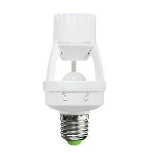 Solight WPIR06 PIR Senzor pro E27 žárovku, bílý
