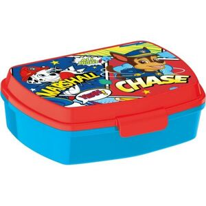 Svačinový box Paw Patrol 17,5 x 14,5 x 6,5 cm, modrá