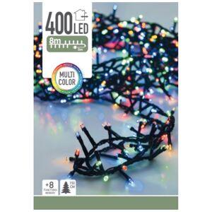 Světelný vánoční řetěz Twinkle barevná, 400 LED