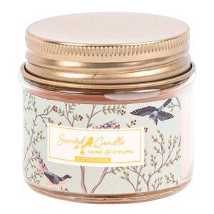 Svíčka ve skle Scented candle Cotton linen, 6,2 x 5,5 cm