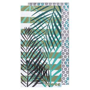 Towee Rychleschnoucí osuška PALMS GREEN, 70 x 140 cm