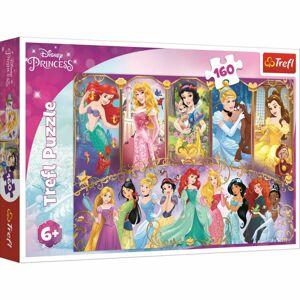 Trefl Puzzle Portréty princezen, 160 dílků