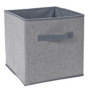 Úložný box 30 x 30 x 30 cm, šedá