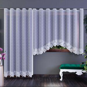 Forbyt Záclona Xenie bílá, 300 x 140 cm