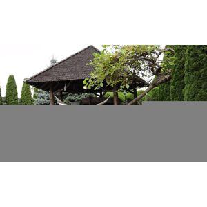 Zahradní plůtek 2,3 m terakota