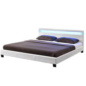 """Čalouněná postel,, Paříž  """"180 x 200 cm - bílá"""